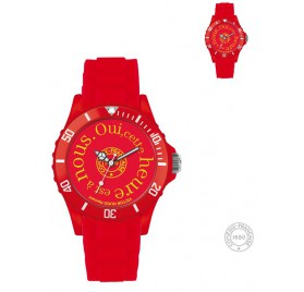 Montre Hernani-rouge